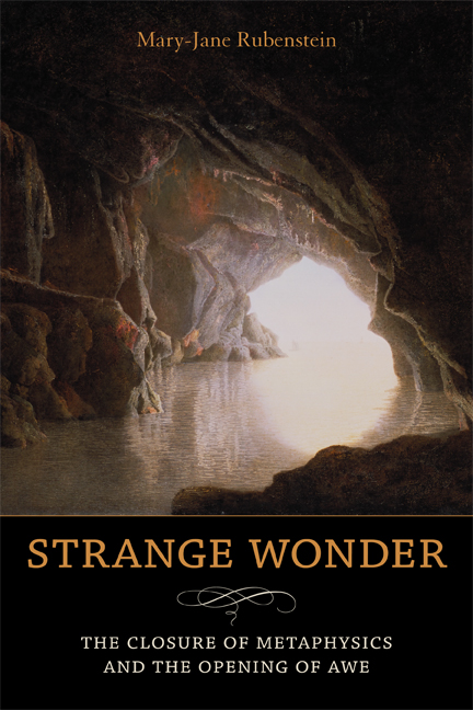 Strange Wonder by Mary-Jane Rubenstein, cover image